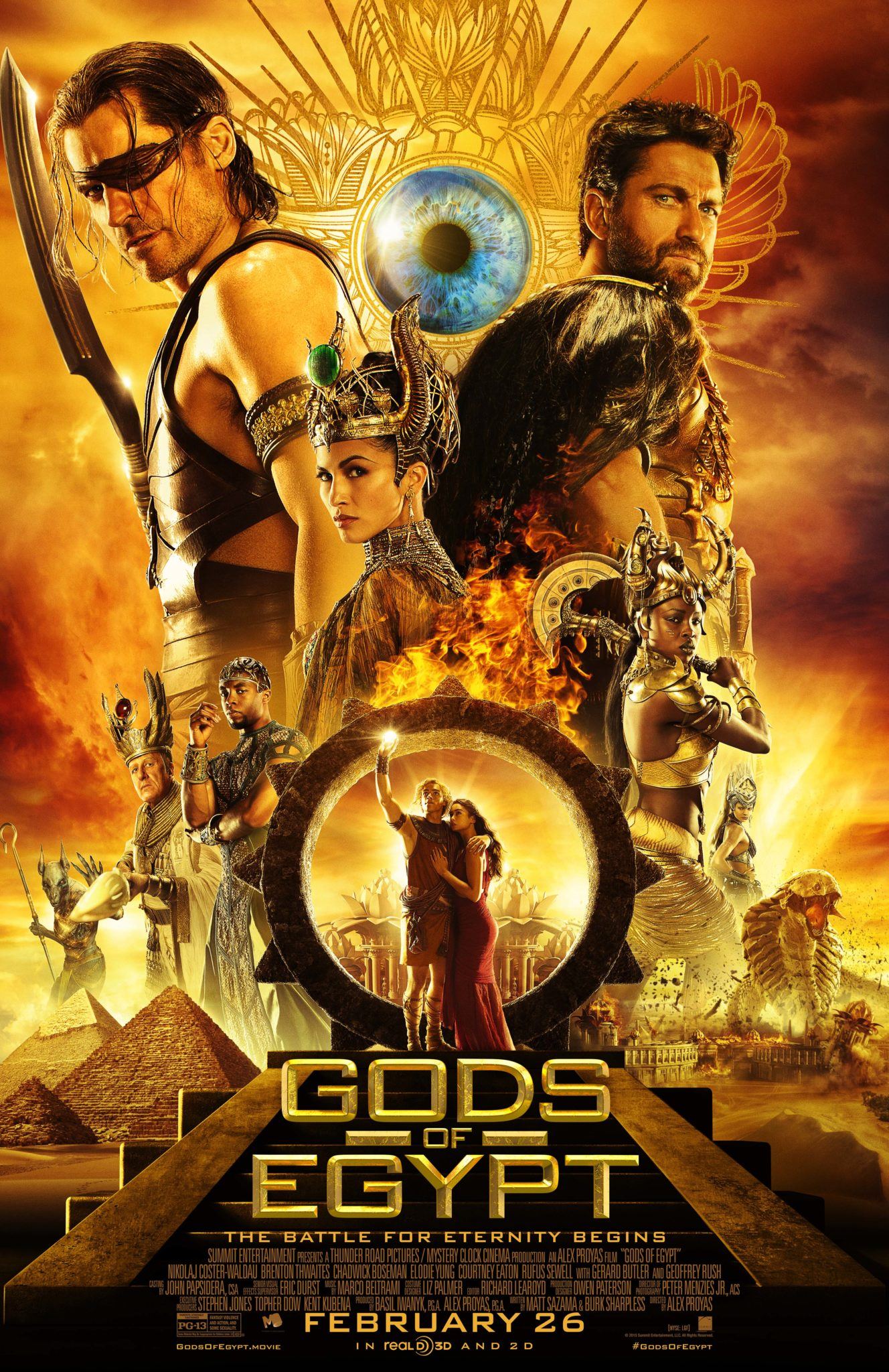 brand slogans gods of egypt